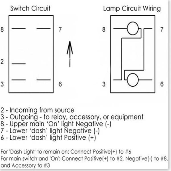 Outstanding 5 Pin 12V 24V Laser Led Light Bar Rocker Toggle Switch Narva Arb Wiring Cloud Uslyletkolfr09Org