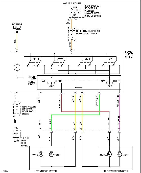 Wondrous Mirror Wiring Diagram General Wiring Diagram Data Wiring Cloud Grayisramohammedshrineorg