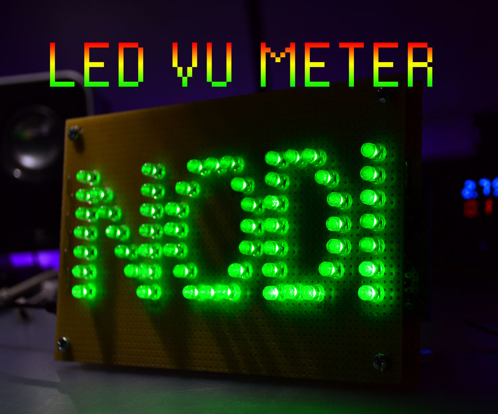 Magnificent Led Vu Meter 6 Steps With Pictures Wiring Cloud Rineaidewilluminateatxorg