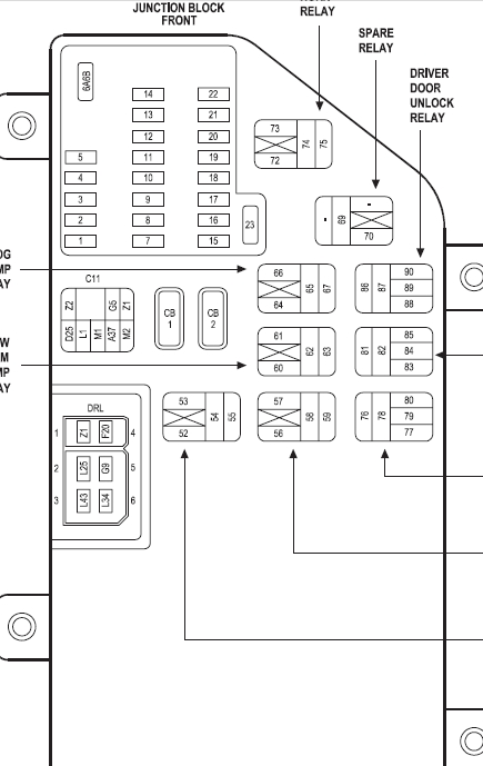 OO_7720] 2000 Chrysler 300M Mini Fuse Box Diagram Wiring DiagramEpete Wigeg Mohammedshrine Librar Wiring 101