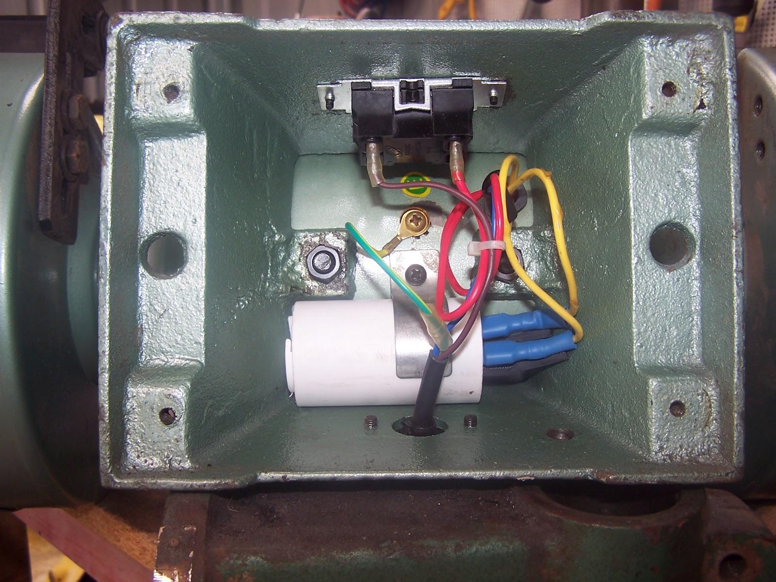 Dayton Bench Grinder Wiring Diagram