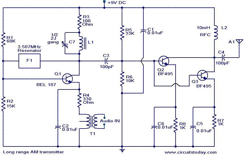 Remarkable Am Radio Transmitter Circuit Basic Electronics Wiring Diagram Wiring Cloud Licukaidewilluminateatxorg