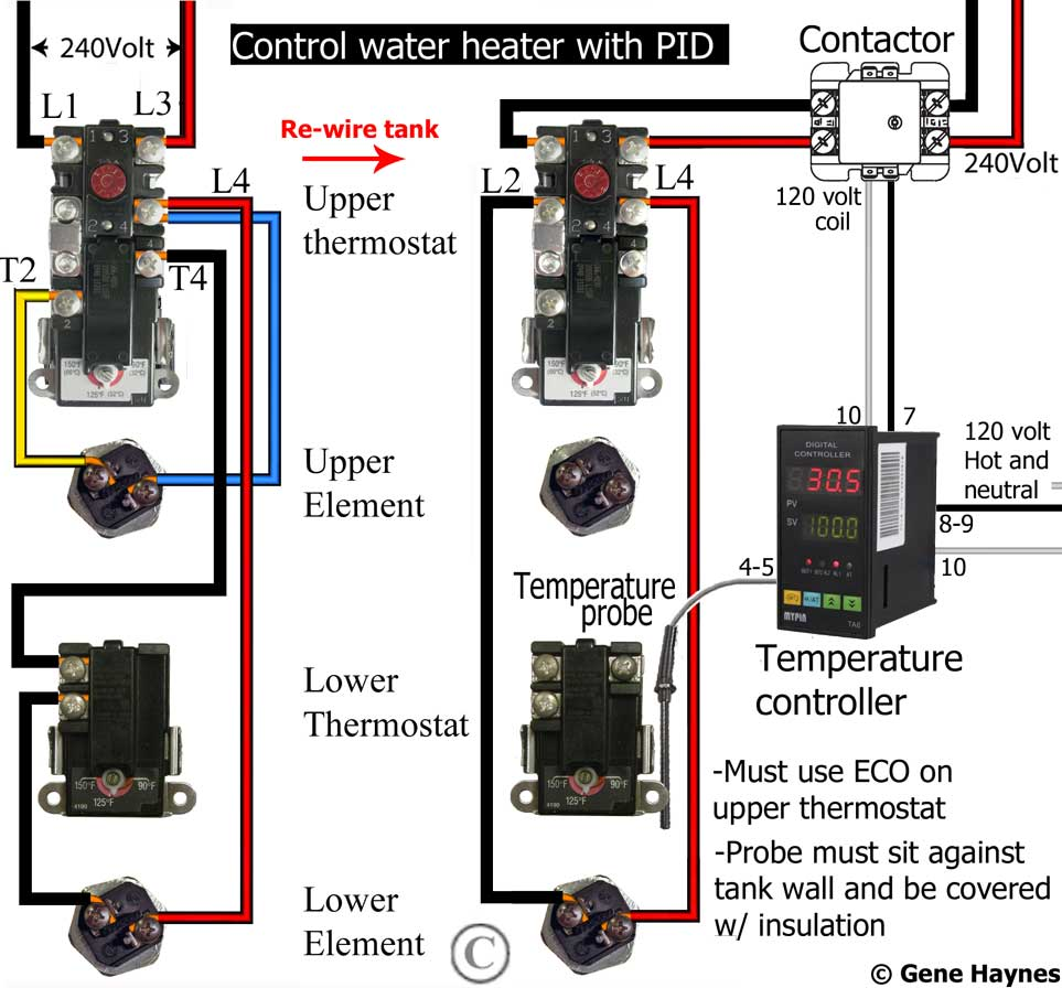 240 Volt Hot Water Heater Wiring Diagram - Database ...
