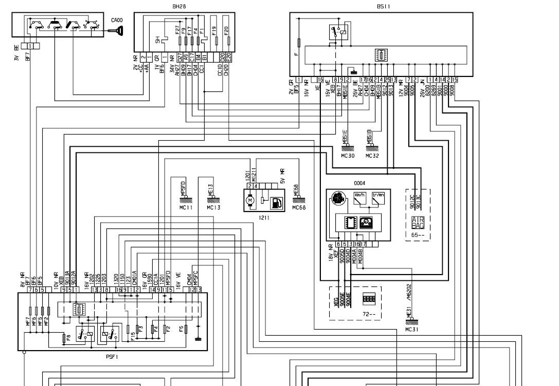 citroen wiring diagrams c4 tg 3360  citroen alarm wiring diagram  tg 3360  citroen alarm wiring diagram