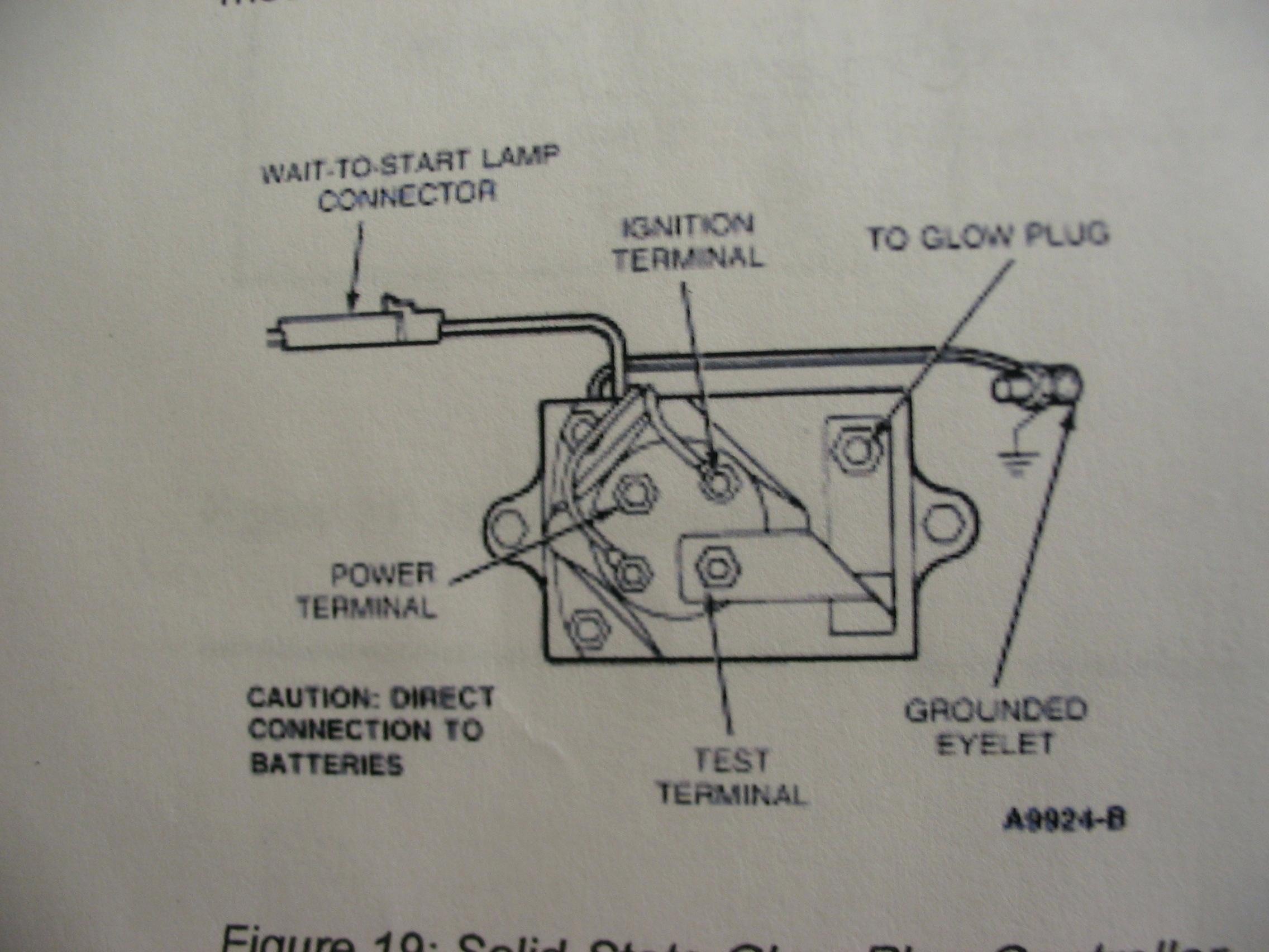 Xm 9135 1995 E350 Glow Plug Wiring Harness Download Diagram