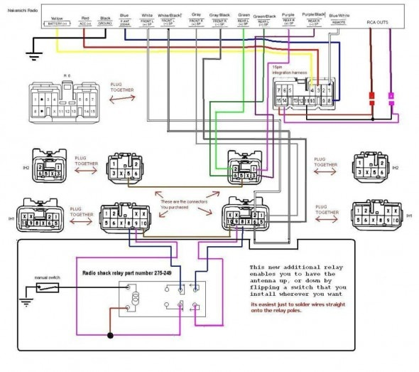 sony cdx gt 100 wiring harness diagram  6 volt coil wiring