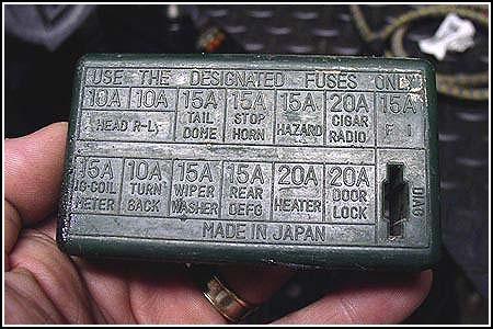 XE_0158] 1988 Suzuki Samurai Fuse Box Diagram Schematic WiringWww Mohammedshrine Librar Wiring 101