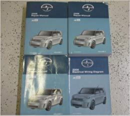 Prime 2008 Toyota Scion Xb Xb X B Service Shop Repair Manual Set Oem Wiring Cloud Orsalboapumohammedshrineorg