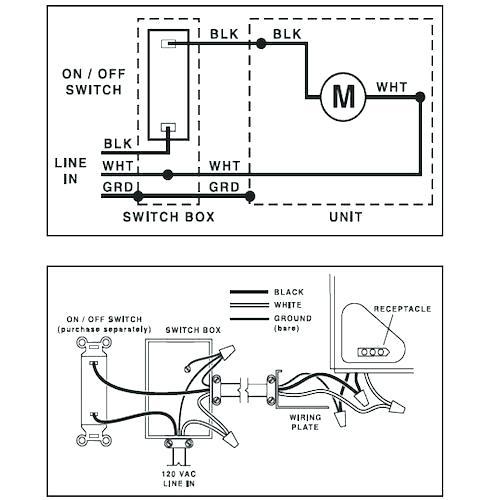 broan bathroom fan light wiring diagram - image of bathroom and closet  image of bathroom and closet