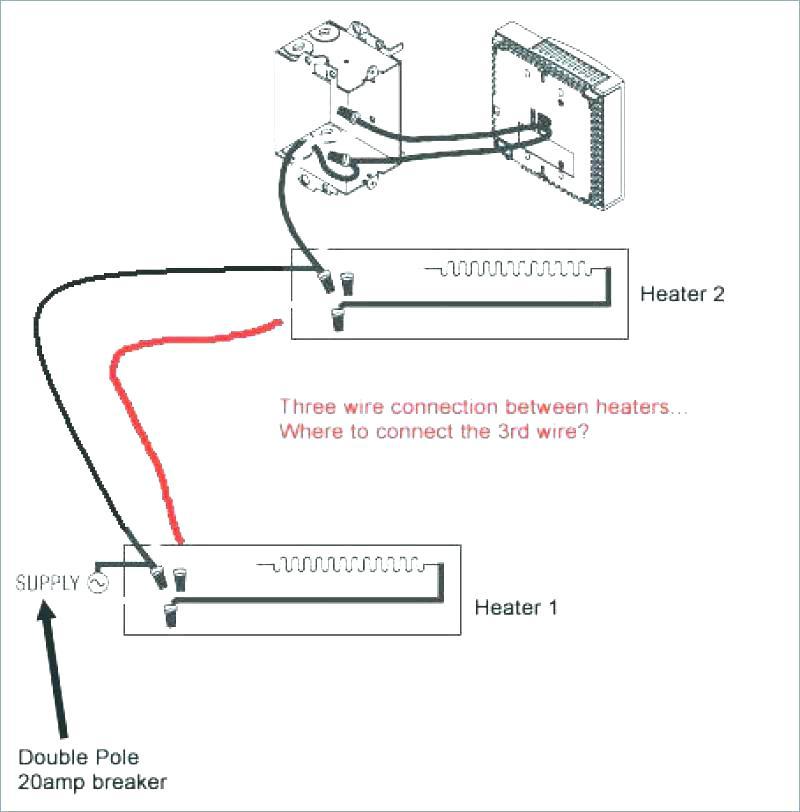 Ca 1597 Single Pole Thermostat Wiring Diagram Single Pole Vs Double Pole Wiring Diagram
