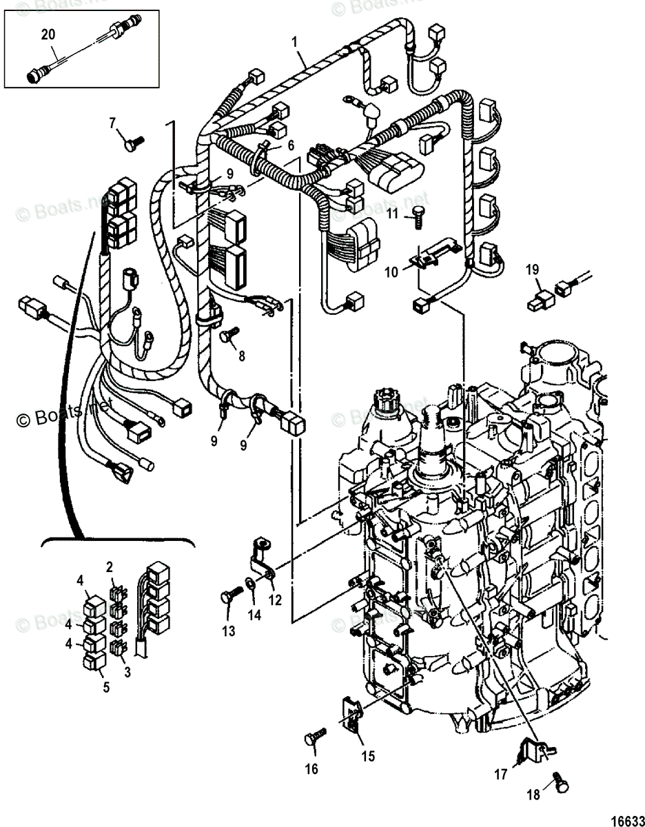 Mercury 175 Sport Jet Wiring Diagram