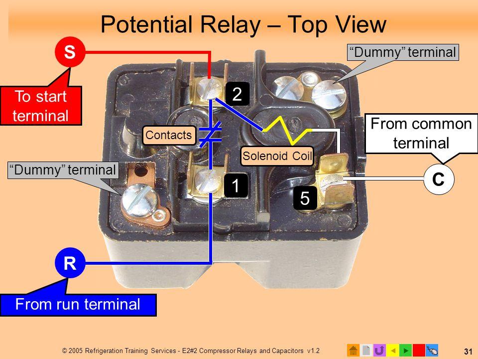 Potential Start Relay Wiring Diagram