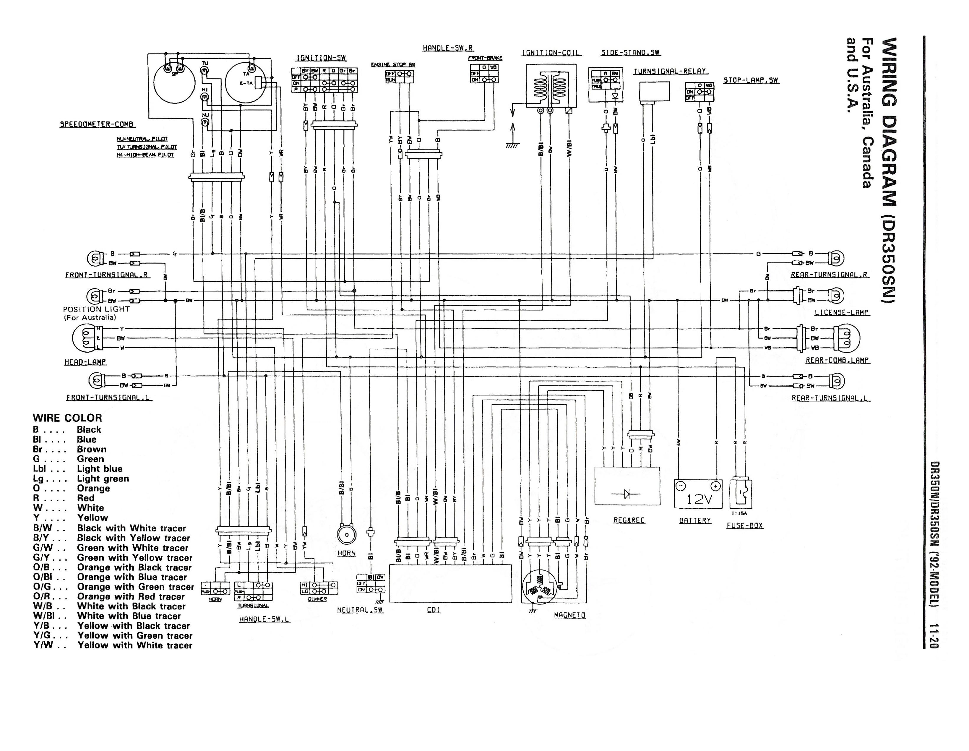 Sz 3362  Suzuki Dr 800 Wiring Diagram Download Diagram
