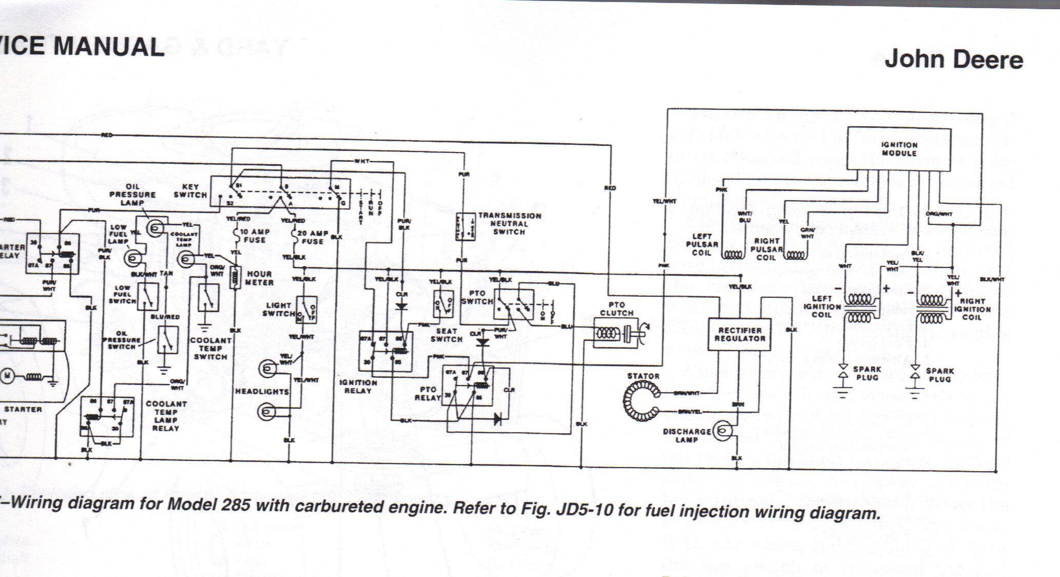 Brilliant John Deere 285 Ignition Wiring Diagram Wiring Diagram Database Wiring Cloud Mousmenurrecoveryedborg