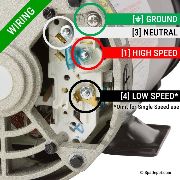 Oh 4699 Magnetek Spa Pump Motor Wiring Diagram Free Diagram