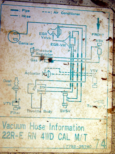 Phenomenal Vacuum Diagram For 87 Pickup Yotatech Forums Wiring Cloud Staixaidewilluminateatxorg
