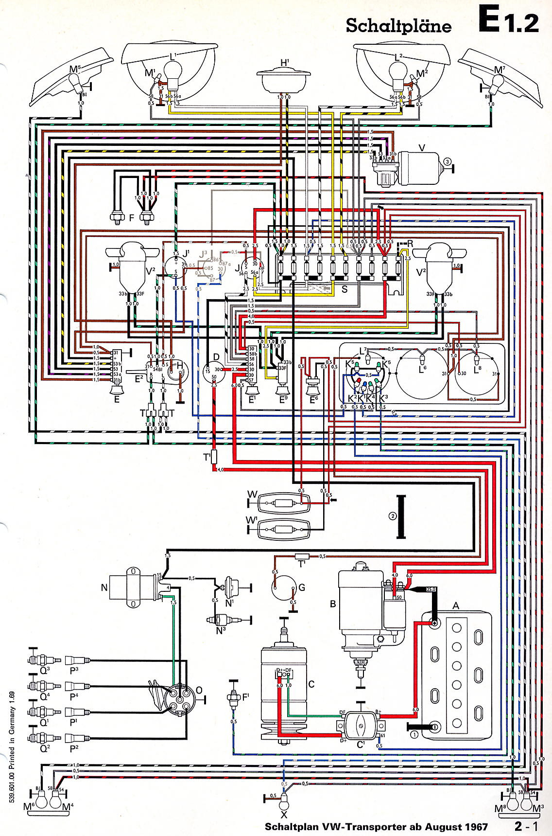 T4 Wiring Diagram