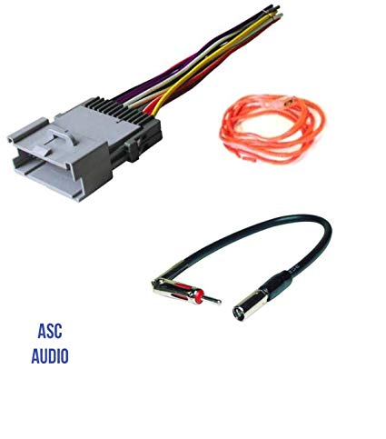 Surprising Amazon Com Asc Audio Car Stereo Wire Harness And Antenna Adapter Wiring Cloud Domeilariaidewilluminateatxorg