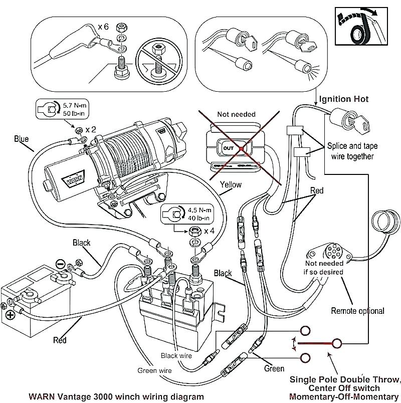 Champion 2000 Lb Winch Wiring Diagram