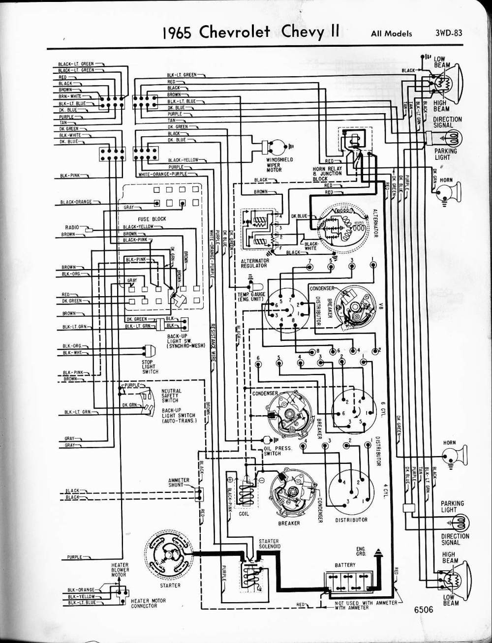 1965 Chevy Ii Wiring Diagram