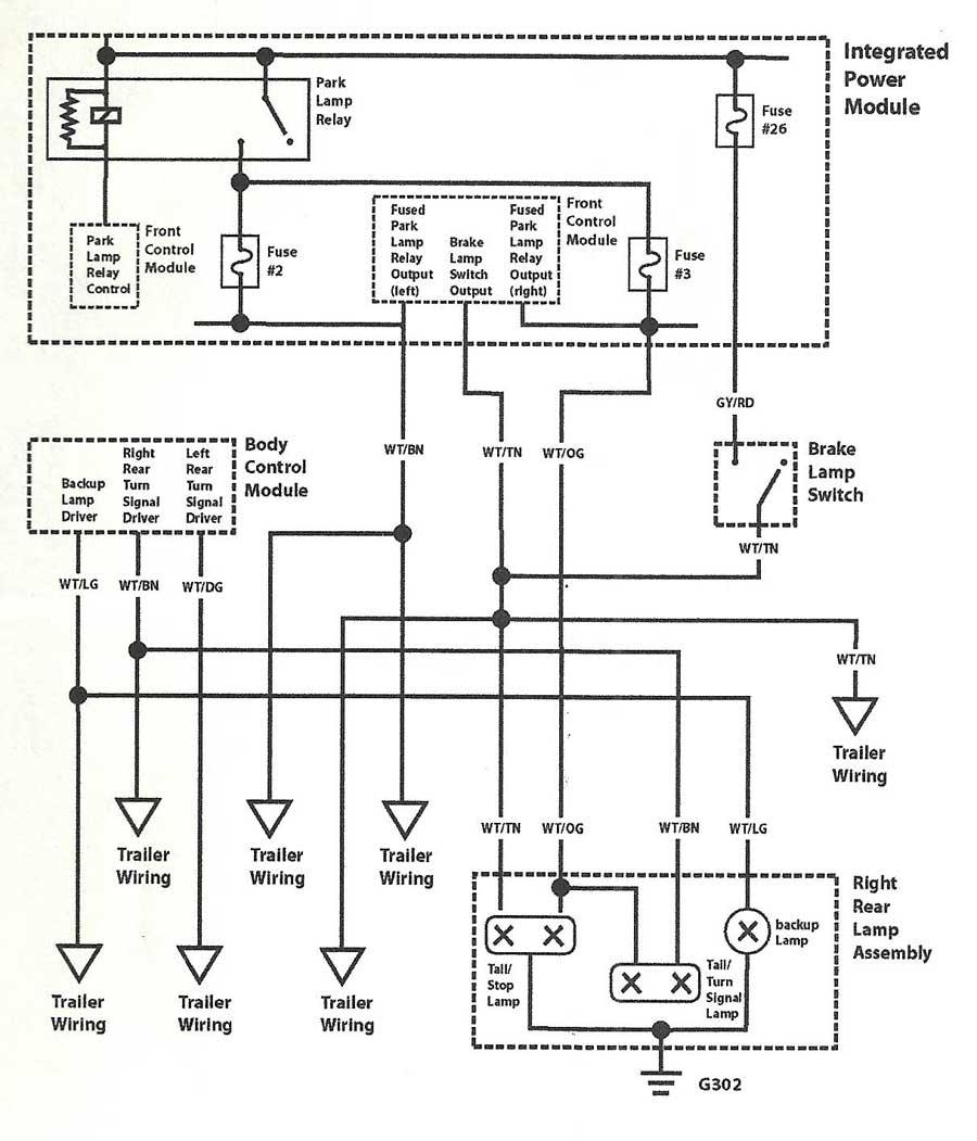 Dodge Caravan Brake Wiring Schematic