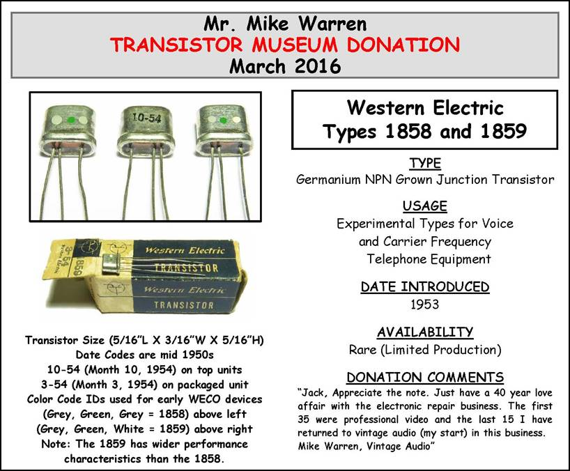 Super Transistor Museum Construction Projects Point Contact Germanium Wiring Cloud Rometaidewilluminateatxorg
