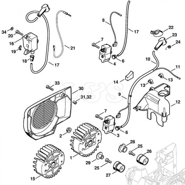 Tv 6565 Stihl 029 Parts Diagram Stihl Ts400 Parts List Schematic Wiring