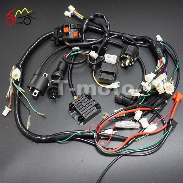 Chinese Mini Atv Wiring Diagram - Wiring Diagram