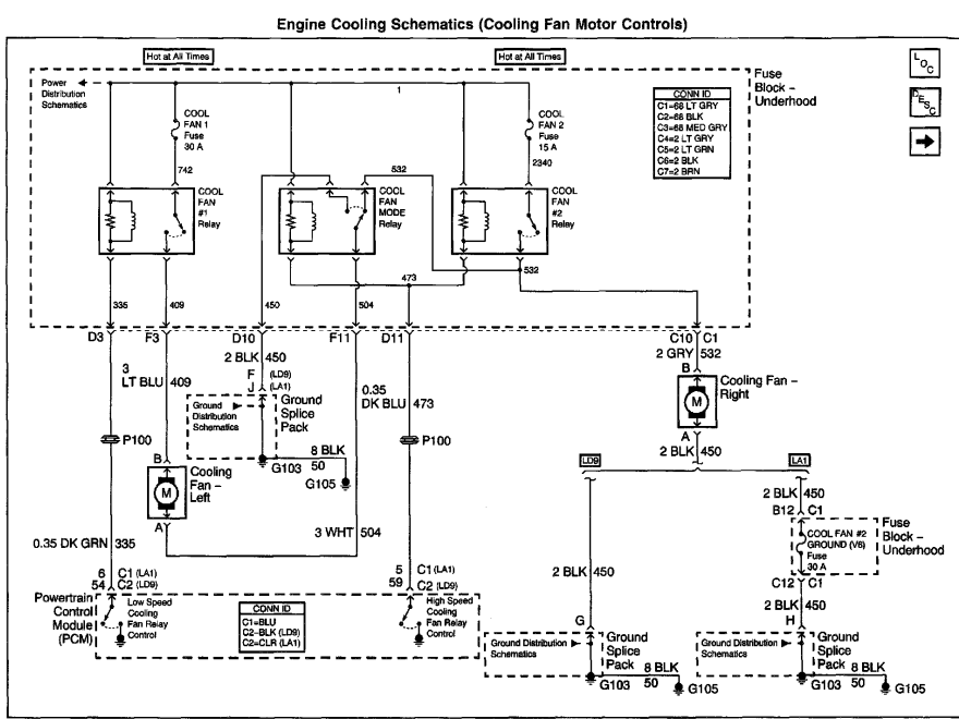 Kx 4011  2004 Pontiac Grand Prix Cooling System 2004 Circuit Diagrams Download Diagram