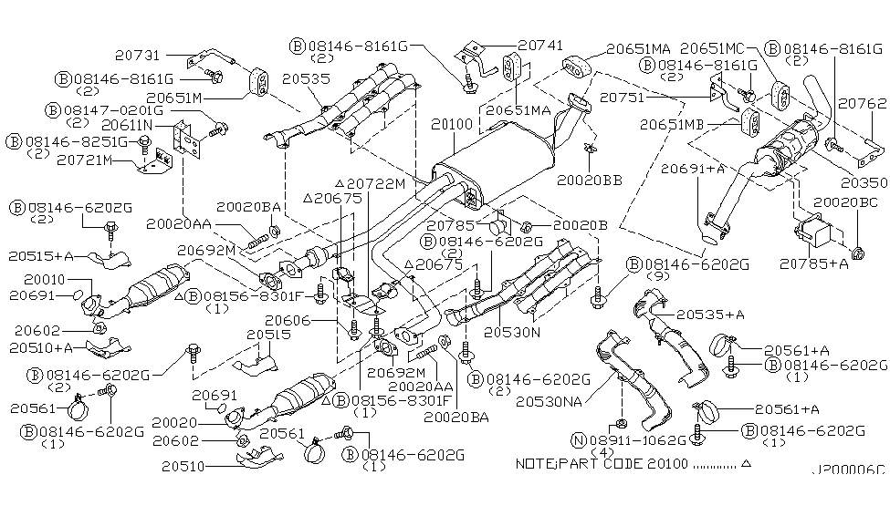 Gc 1206  Nissan Pathfinder Exhaust Diagram Download Diagram