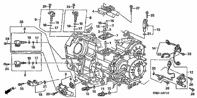 Hz 9624  05 Acura Tsx Engine Diagram Free Diagram