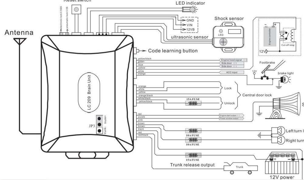spy two way car alarm system wiring diagram  99 audi wiring