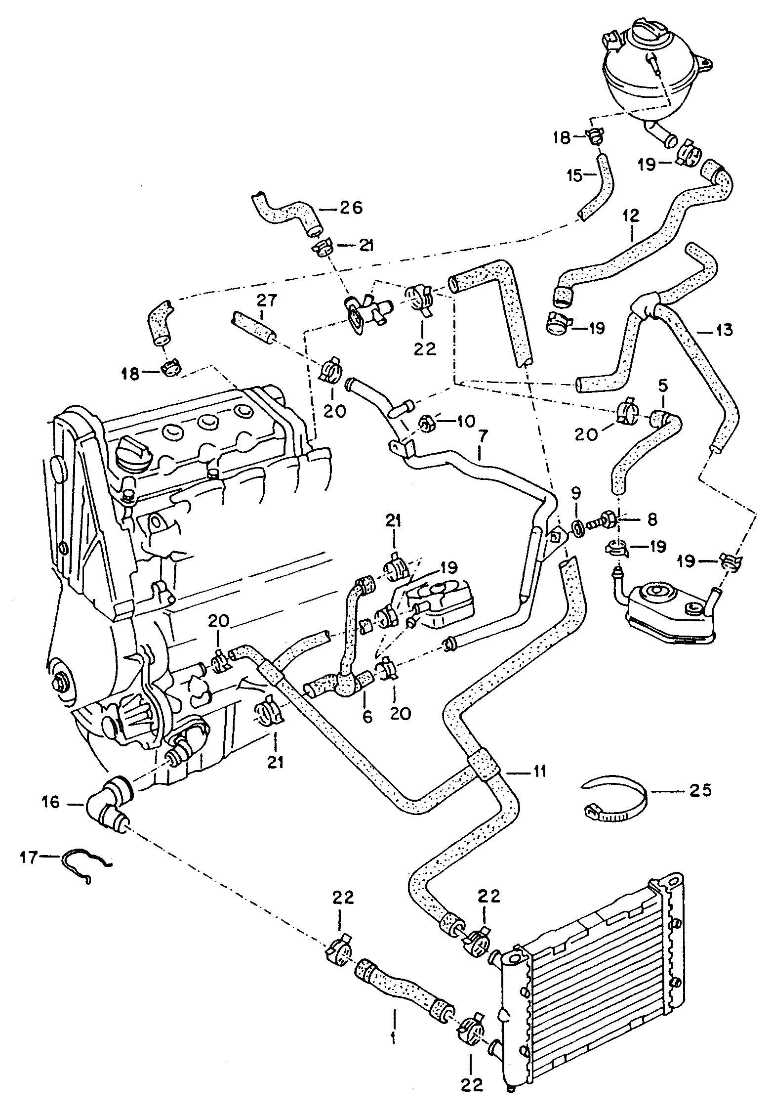 [SCHEMATICS_4PO]  XW_0268] Volkswagen Cooling System Diagram Wiring Diagram   2002 Volkswagen Passat Engine Diagram Water Hoses      Hroni Phae Mohammedshrine Librar Wiring 101