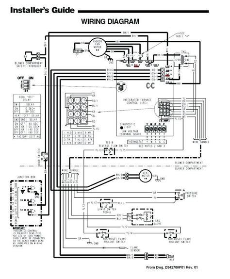 Trane Wcc036f100bb Wiring Diagram