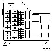 Volvo V40 1998 Fuse Box Encoder Logic Diagram With Truth Table For Wiring Diagram Schematics