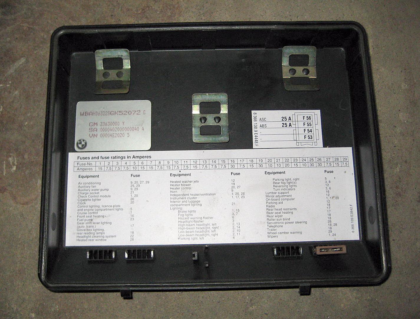 E34 Fuse Box Diagram Wiring Diagrams Electro Electro Chatteriedelavalleedufelin Fr
