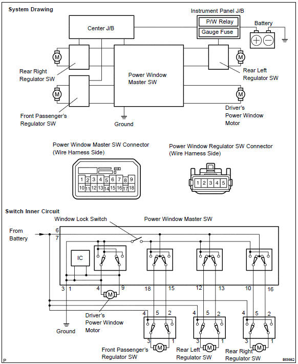 Aa 0612 Mitsubishi Power Window Wiring Diagram Free Diagram