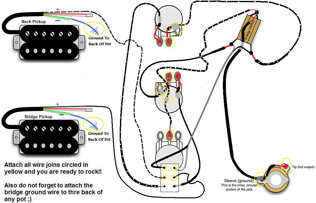 Gibson Les Paul Standard Wiring Diagram - Collection ...