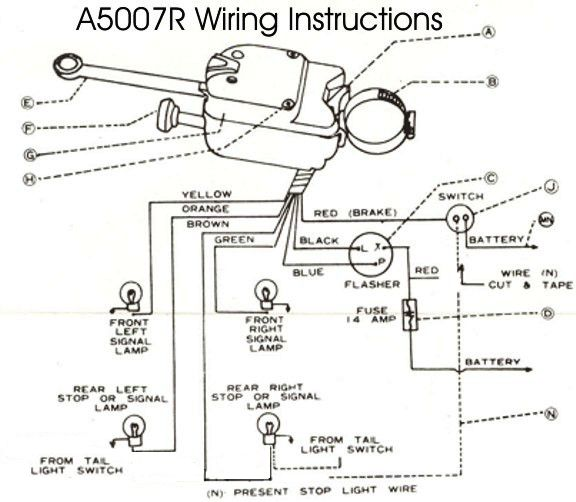 OH_4899] Wiring Diagram For The Blinker Light Assembly Schematic Wiring | Turn Signal Switch Wiring Schematics |  | Cana Anth Over Jebrp Mohammedshrine Librar Wiring 101