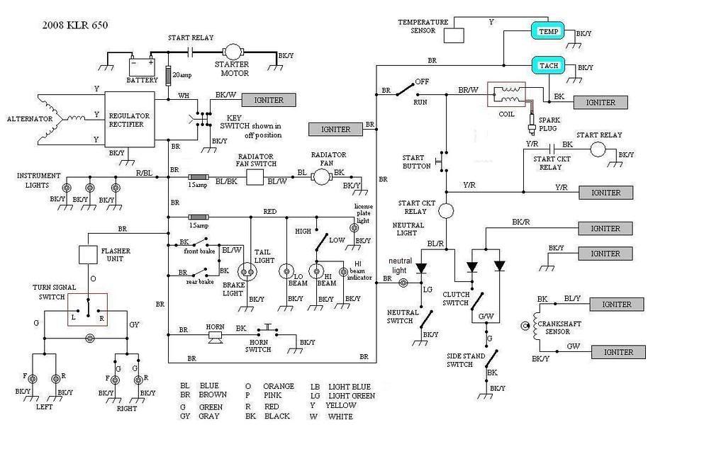 klr 650 wiring diagram kawasaki klr650 color tb 6508  wiring diagram kawasaki klr 650 wiring diagram power  wiring diagram kawasaki klr 650 wiring