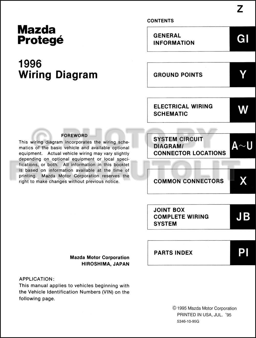 1999 mazda wiring diagram kc 7608  mazda wiring diagram schematic wiring  mazda wiring diagram schematic wiring