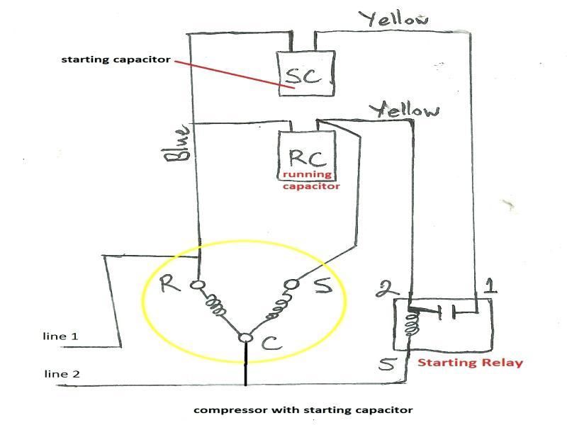 Fantastic Compressor Wiring Refrigerator Wiring Diagram Lg Refrigerator Wiring Cloud Overrenstrafr09Org