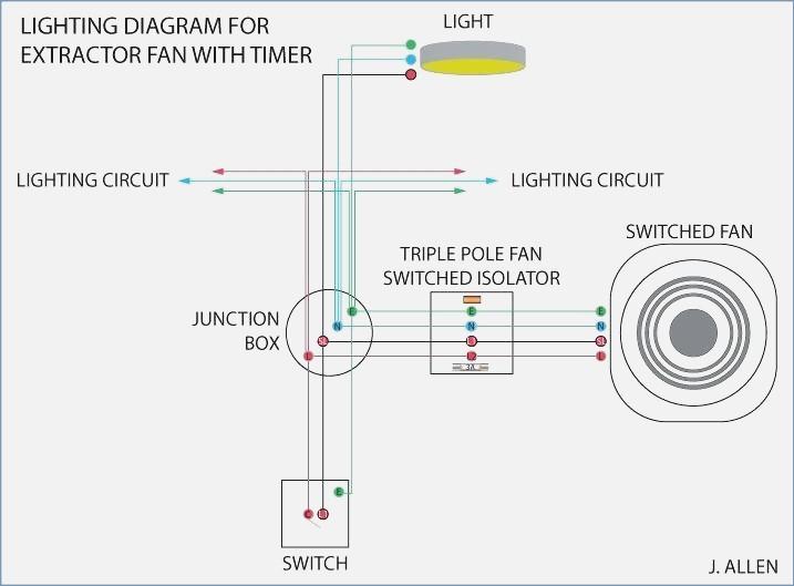 Manrose Extractor Fan Wiring Diagram