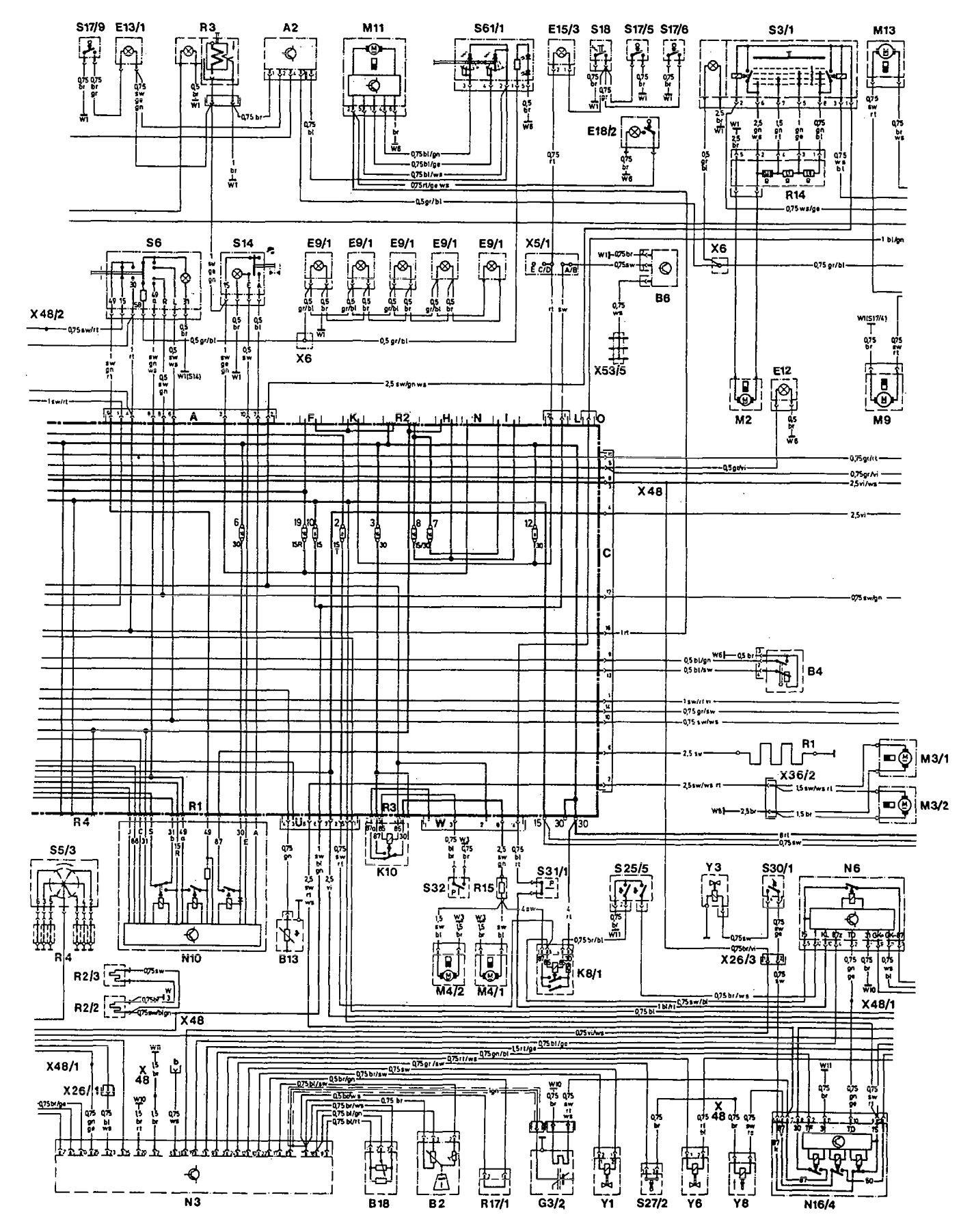 Rf 5935  1993 Mercedes 190e Radio Wiring Diagram Download Diagram