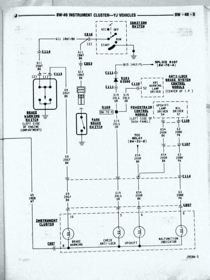 Jeep Tj Wiring Schematic - Wiring Diagram