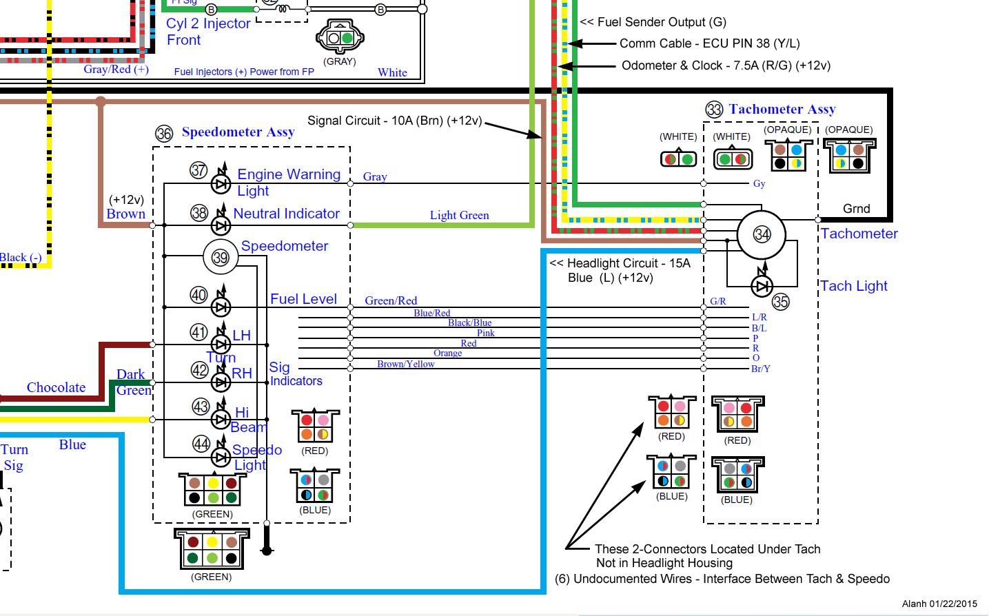 2005 Yamaha V Star 650 Classic Wiring Diagram