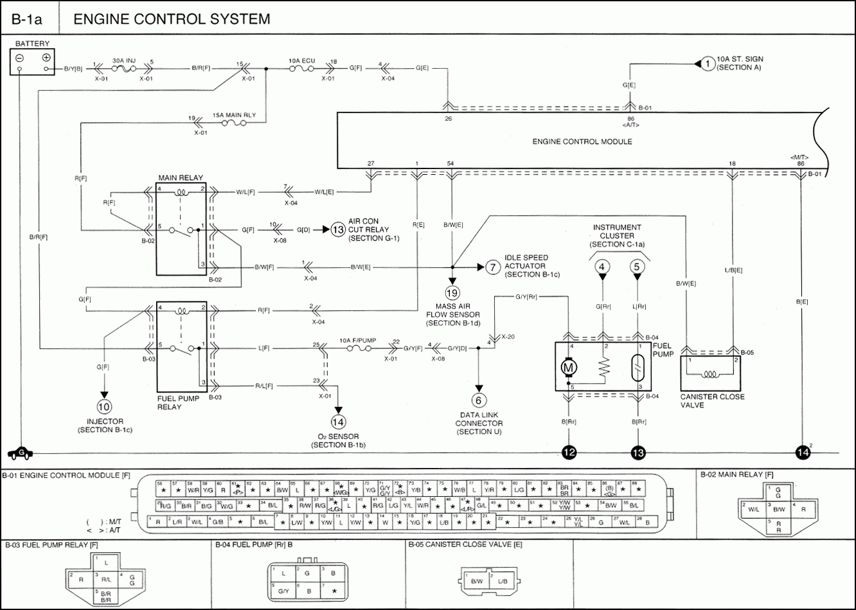 2006 Kia Rio Injector Wiring Diagram Database