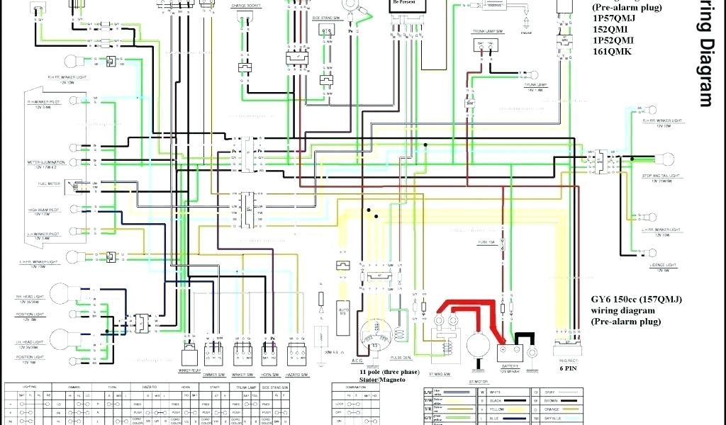 150cc Chinese Scooter Wiring Diagram