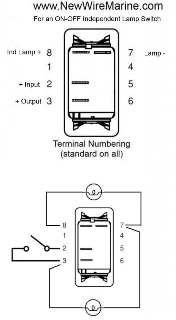 ml5822 12 volt switch wiring diagram schematic wiring