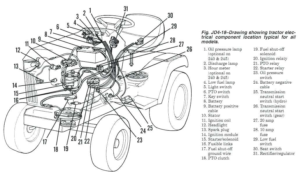 John Deere Stx38 Wiring Diagram